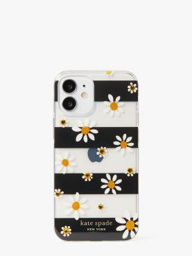 jeweled daisy dots 12 mini phone case
