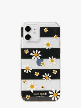 jeweled daisy 12 pro phone case