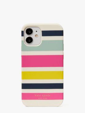 stripe 12 mini phone case
