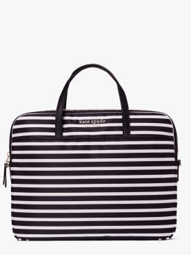 the little better sam hill stripe universal laptop bag