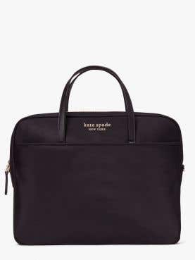 the little better sam nylon universal laptop bag