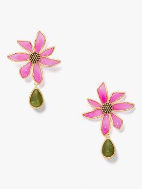 wild garden drop earrings