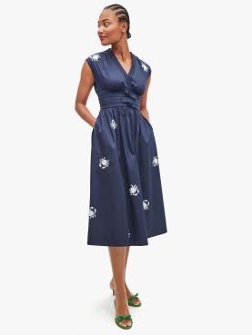 snappy poplin dress