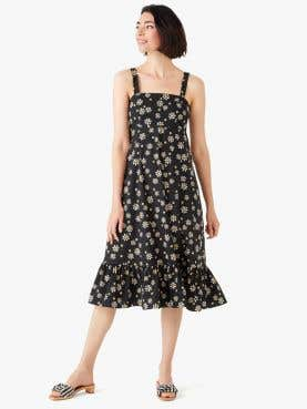 daisy dots al fresco midi dress