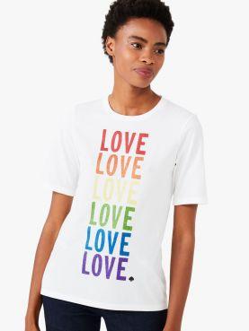 rainbow love tee