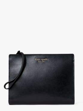 spencer wristlet with gusset