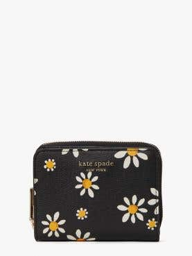 spencer daisy dots small compact wallet