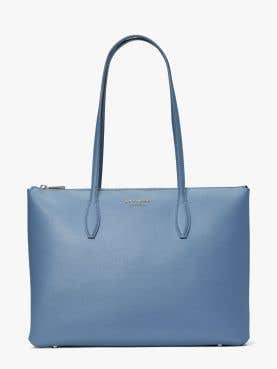 all day large zip top tote