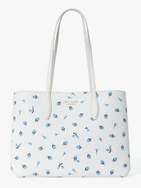 all day dainty bloom large tote