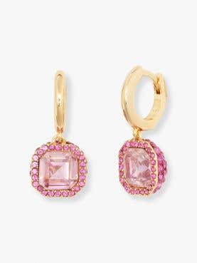 brilliant statements pave drop earrings