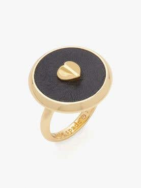 heartful disc ring